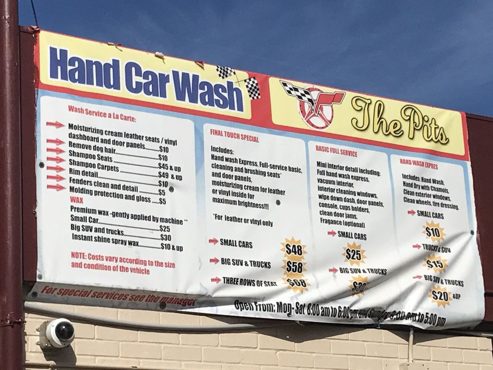 The Pits Hand Car Wash