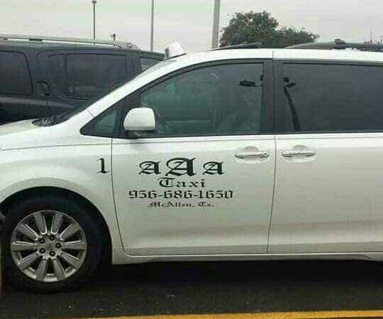 AAA Taxi Service: McAllen, TX