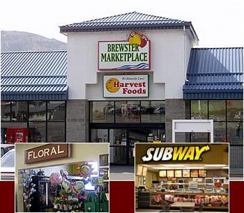 Brewster Marketplace: 907 State Hwy 97, Brewster, WA