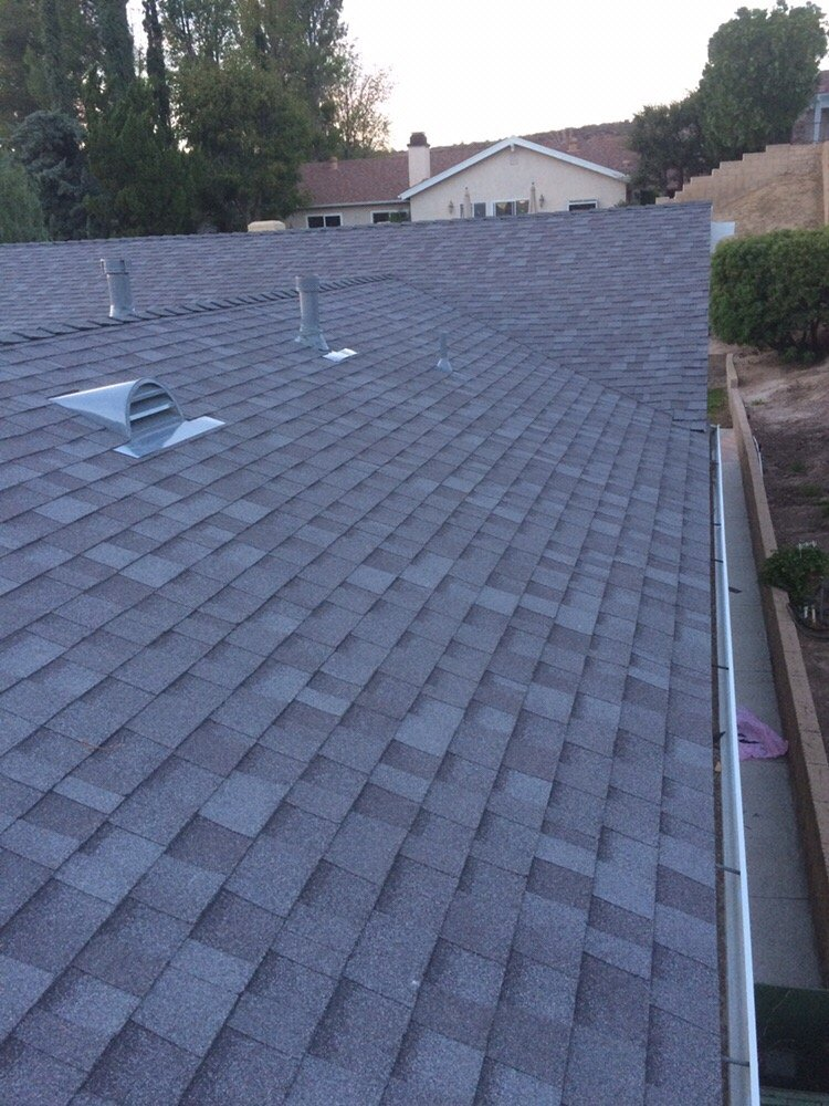 Owens Corning Mountainside Composition Shingles Installed