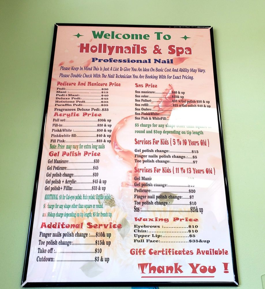 Holly Nails: 692 S Andy Griffith Pkwy, Mount Airy, NC