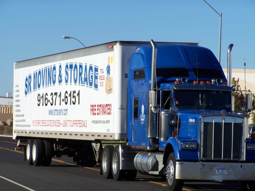 Sr Trucking Moving Storage Movers 2969 Promenade St