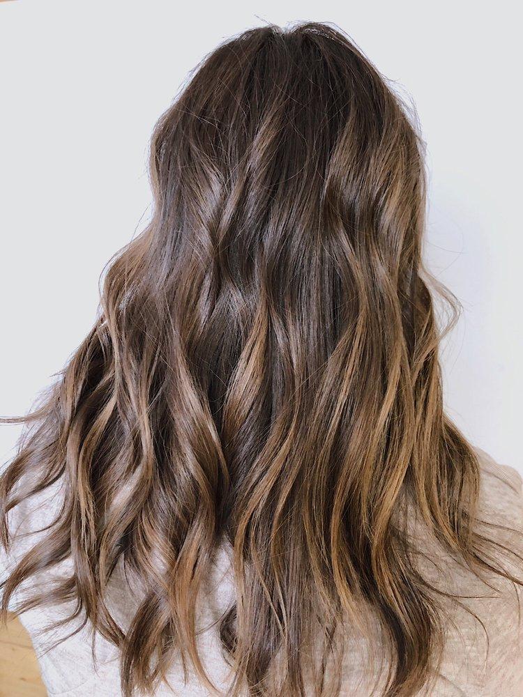 Beautiful brunette. Balayage and melting - Yelp
