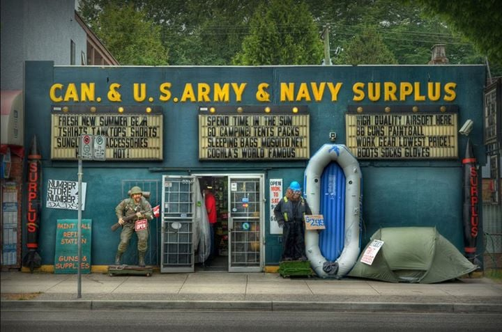 Reviews on Army Surplus in Bellingham, WA - Camouflage International Military Surplus & Supplies, Gorilla Surplus, Westley Military Surplus, Army & Navy Department Store, Warriors & Wonders, Army Surplus Vancouver.