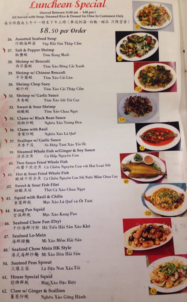 Lunch Specials From 11am 3pm Page 3 4 Yelp