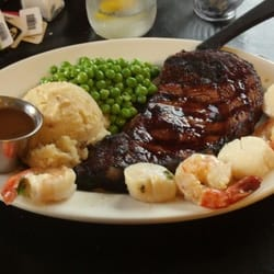 Photo Of Big Wood Steakhouse   Jackman, ME, United States. Surf And Turf