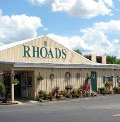 Rhoads Garden Center: 1051 State Rte 56 E, Circleville, OH