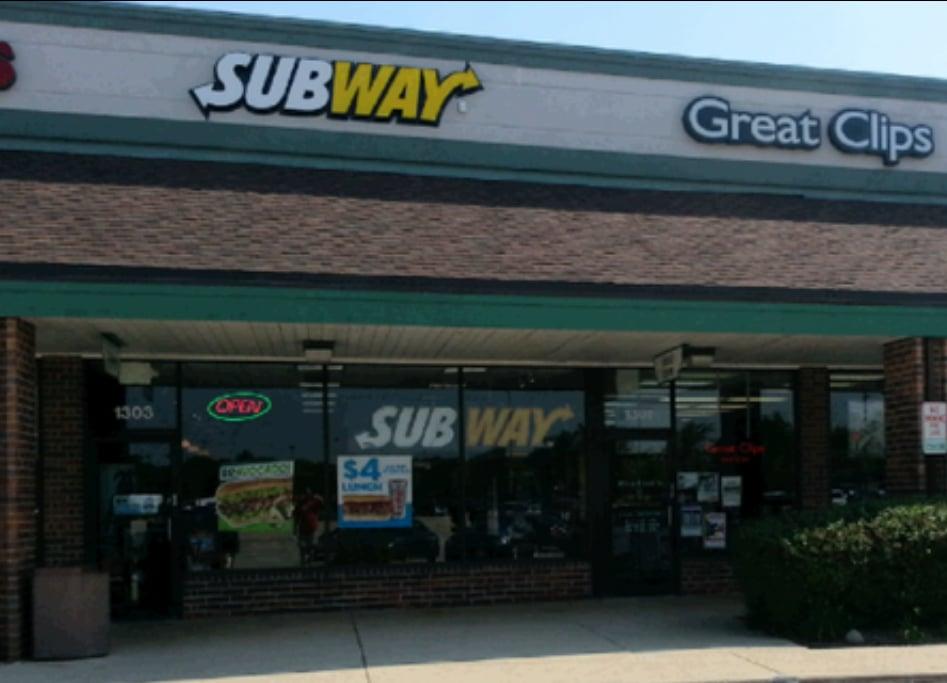 Subway Map Naperville.Subway Order Food Online Sandwiches 1303 S Naper Blvd