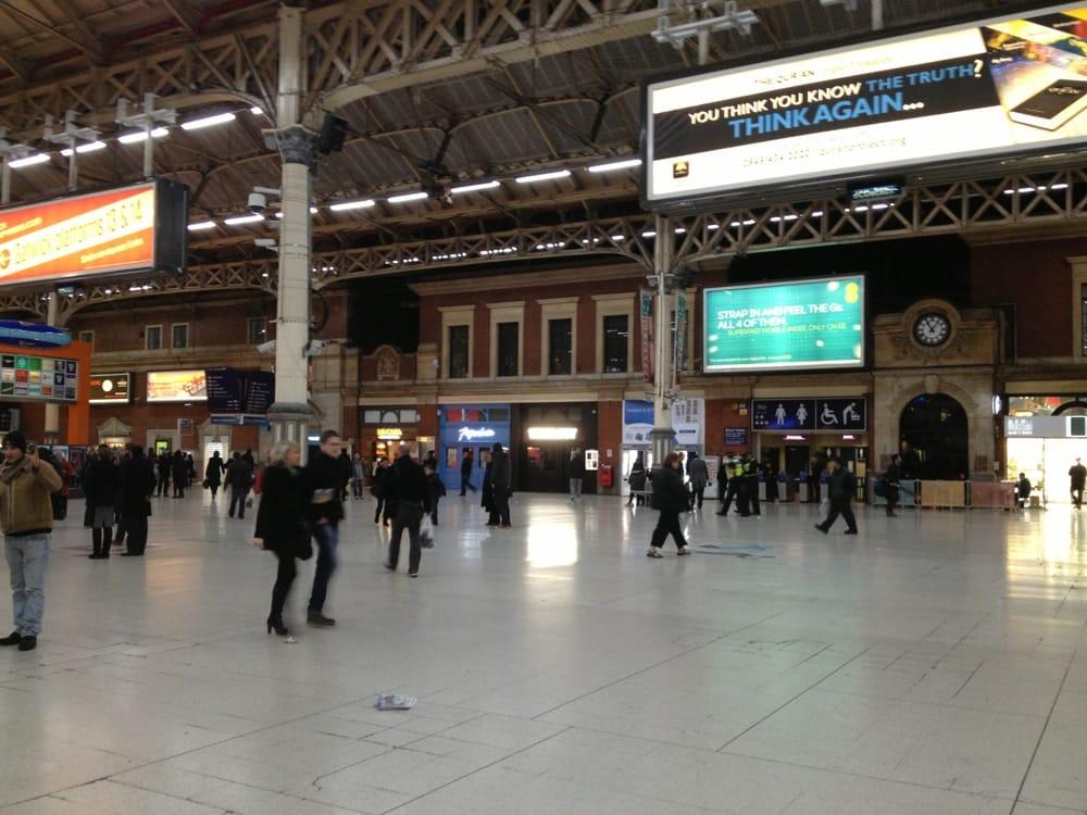 Restaurants Near London Victoria Coach Station