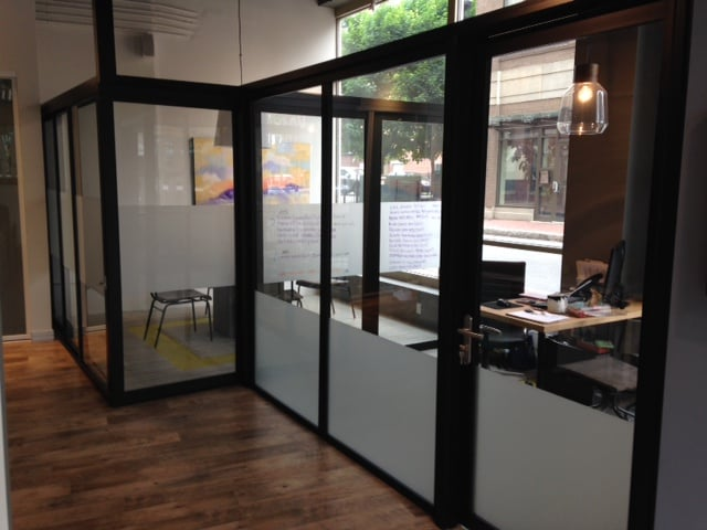 Photo Of The Sliding Door Company Boston Ma United States Connecting Open