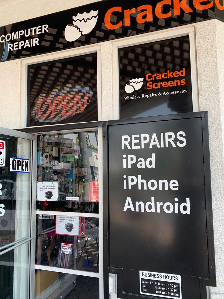 Cracked Screens: 2315 California Ave, Corona, CA