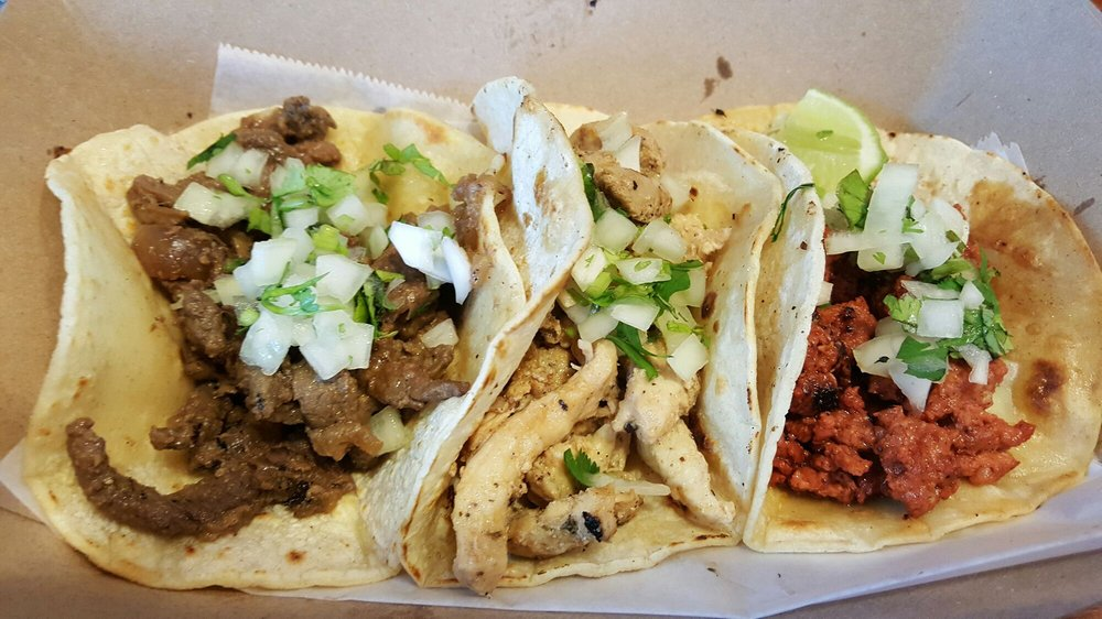 Food from El Taquito