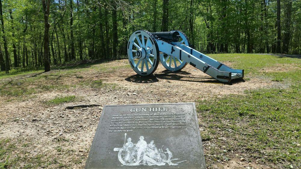 Horseshoe Bend National Military Park: 11288 Horseshoe Bend Rd, Daviston, AL