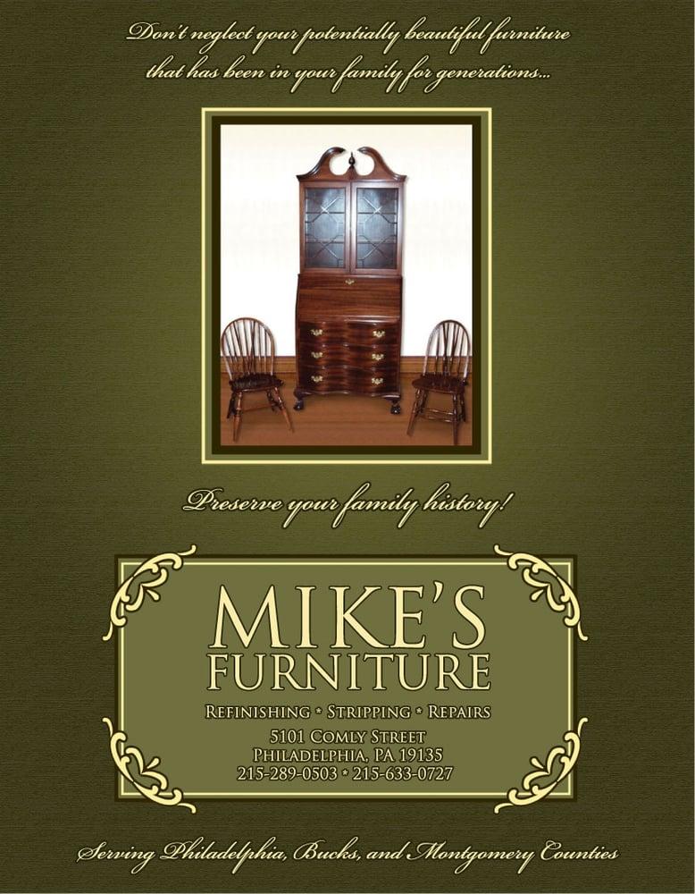 Mikeu0027s Furniture Refinishing   Refinishing Services   5101 Comly St,  Tacony, Philadelphia, PA   Phone Number   Yelp
