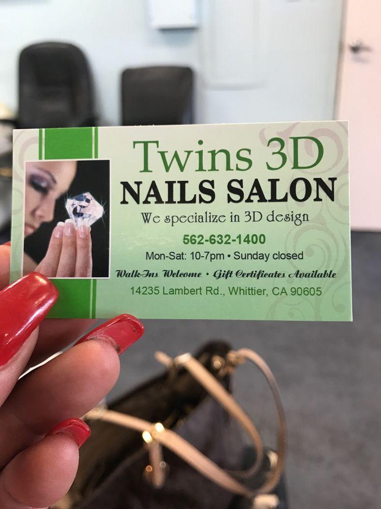 Photos For Twins 3D Nail Salon - Yelp