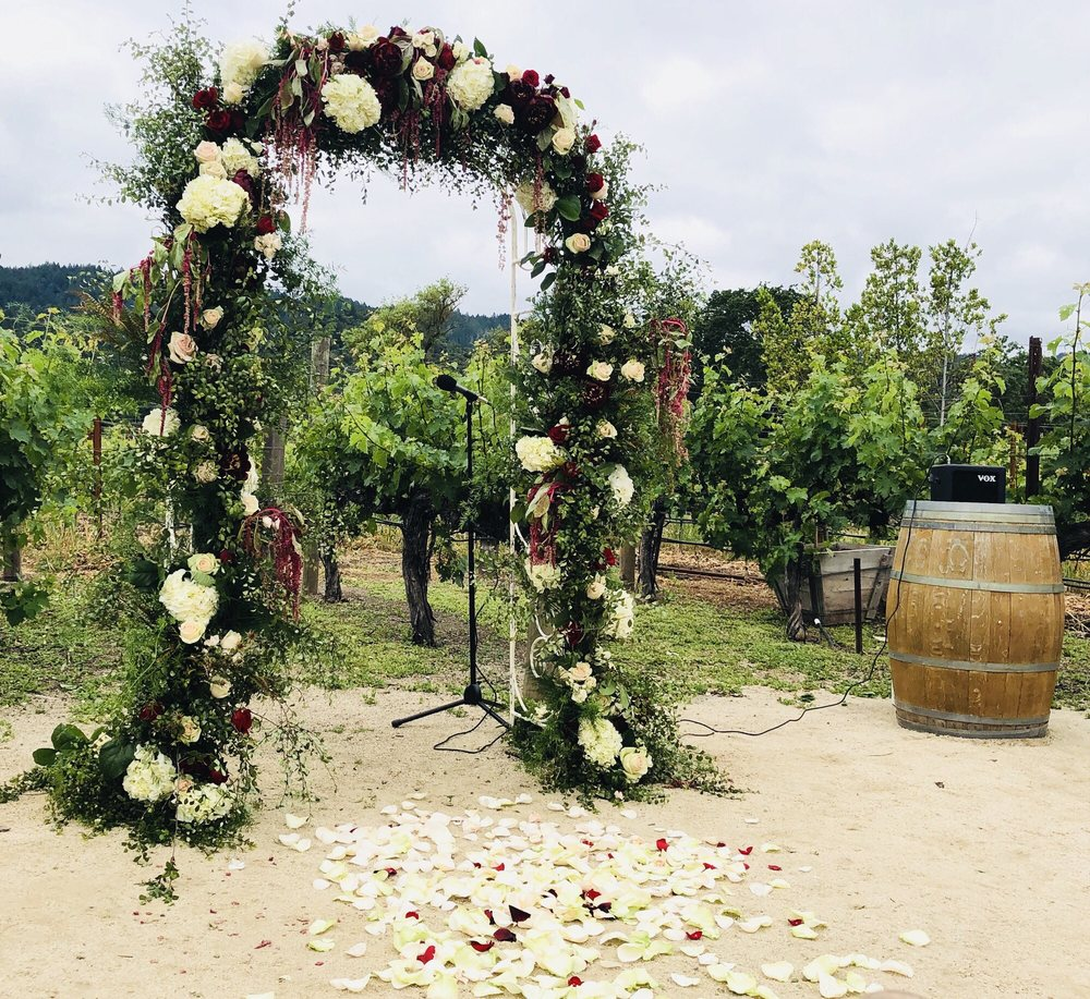 Joellen Pope Weddings: Napa, CA