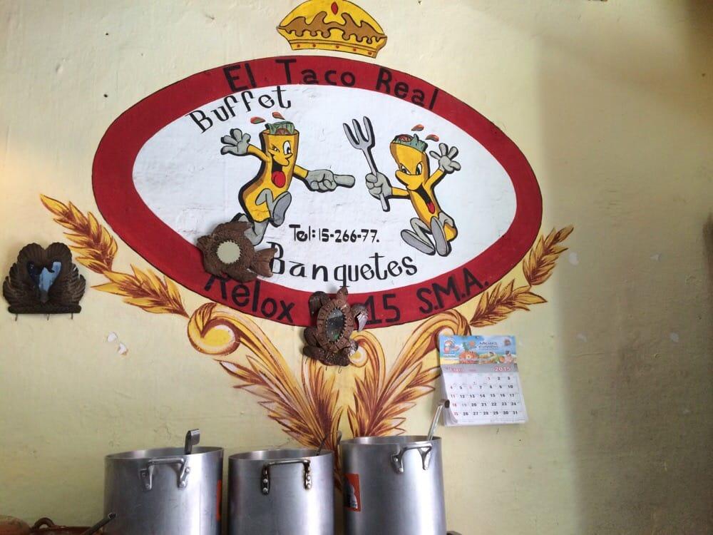 El Taco Real Cocina Mexicana Relox 15 San Miguel De