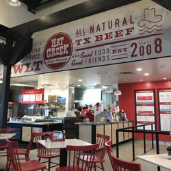 Photo Of Hat Creek Burger Company Rowlett Tx United States Inside