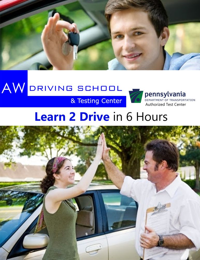 AW Driving School & Testing Center: 555 Union Blvd N Entrance, Allentown, PA