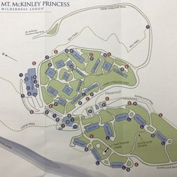 Mt Mckinley Princess Wilderness Lodge Resorts 133 George Parks - Mt-mckinley-on-us-map
