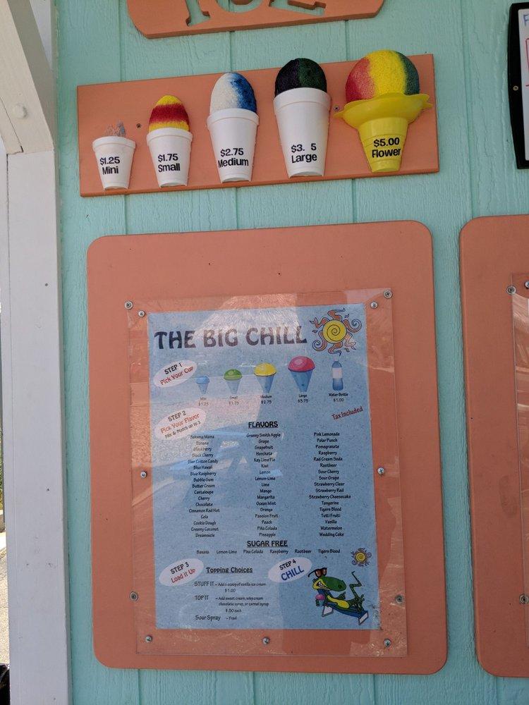 The Big Chill: 495 N State St, La Verkin, UT