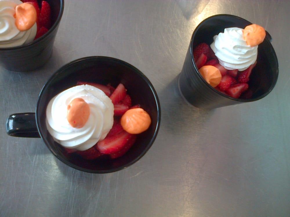Cours de cuisine midi express le dessert fraises for Zodio cours cuisine