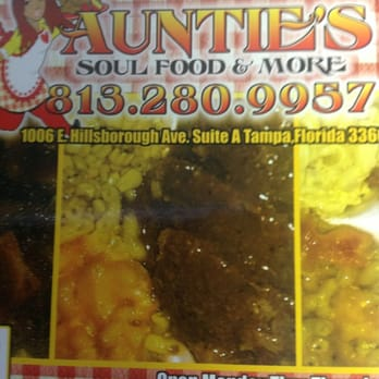 Auntie S Soul Food More Tampa Fl
