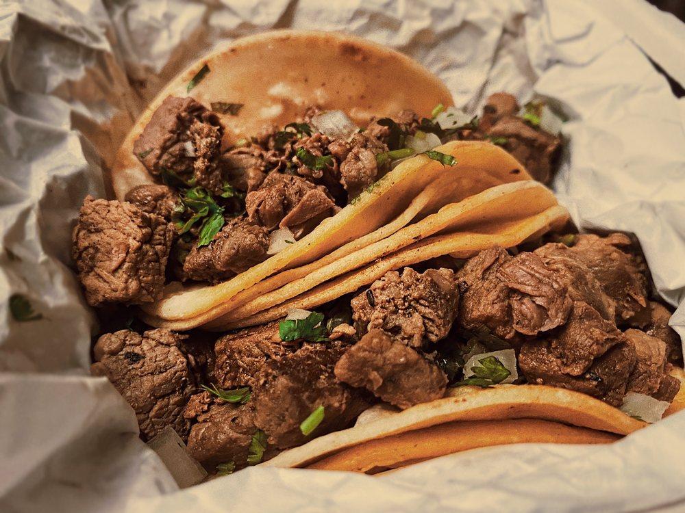 Food from Casa Azul Taqueria