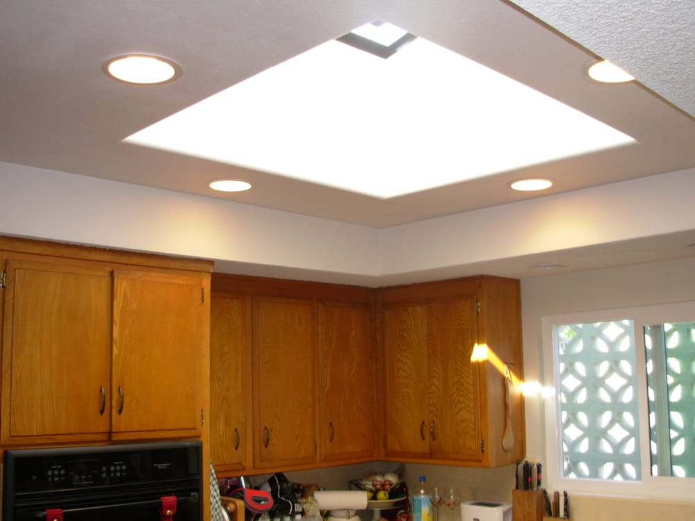Recessed Lighting Yelp : San diego installation of openable skylight and recessed