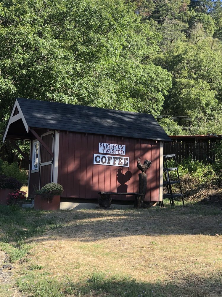 Slightly Twisted Coffee & More: 2953 Redwood Dr, Redway, CA