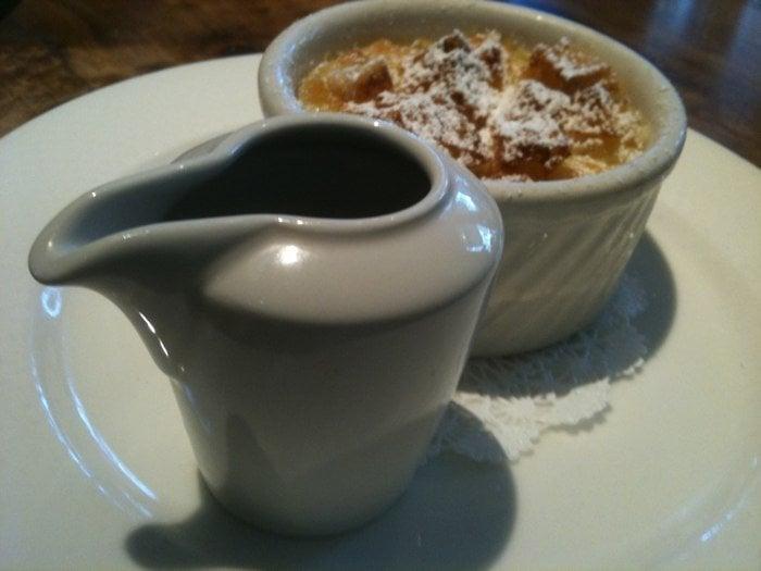 Bread Pudding with Orange Caramel Sauce ($8.00) - Yelp