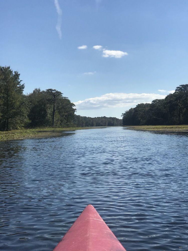 Wacissa River Canoe and Kayak Rental: 290 Wacissa Springs Rd, Monticello, FL