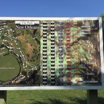City Park Disc Golf Course 18 s Disc Golf 1 Palm Dr City