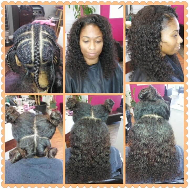 The Vixen Full Sew In Hair Weave Versatile Styling Options