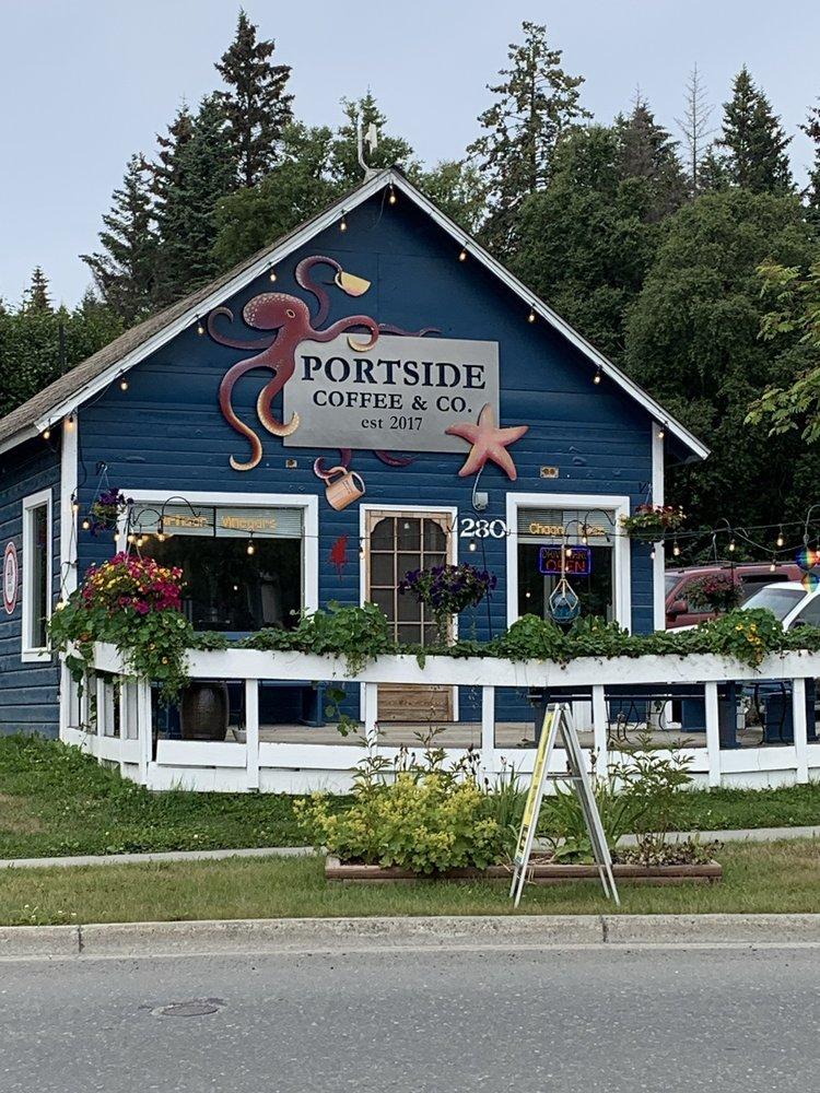 Portside Coffee: 280 W Pioneer Ave, Homer, AK
