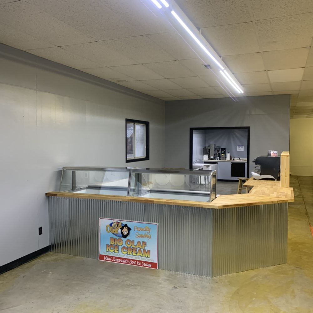 Big Olaf Creamery of Indiana: 120 Main St, Montgomery, IN