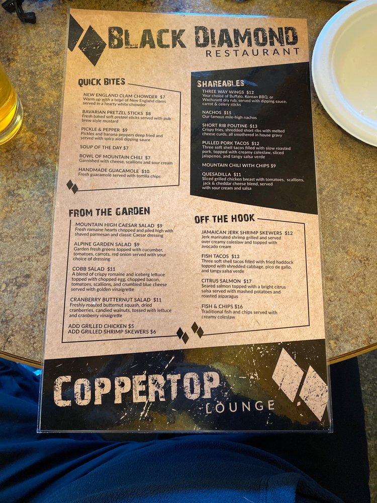 Coppertop Lounge: 499 Mountain Rd, Princeton, MA