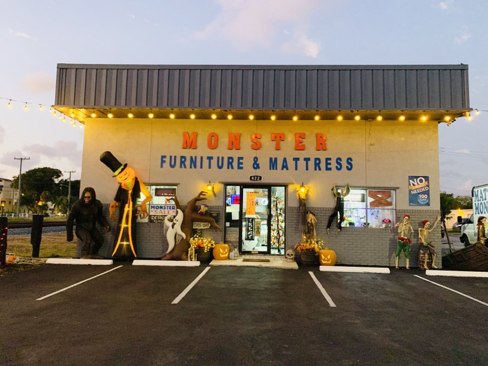 Monster Furniture and Mattress: 422 E Boynton Beach Blvd, Boynton Beach, FL