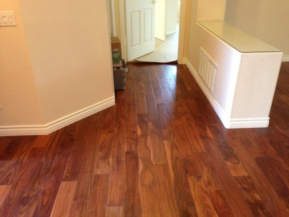Acacia Hardwood Floors Professionally Installed Yelp