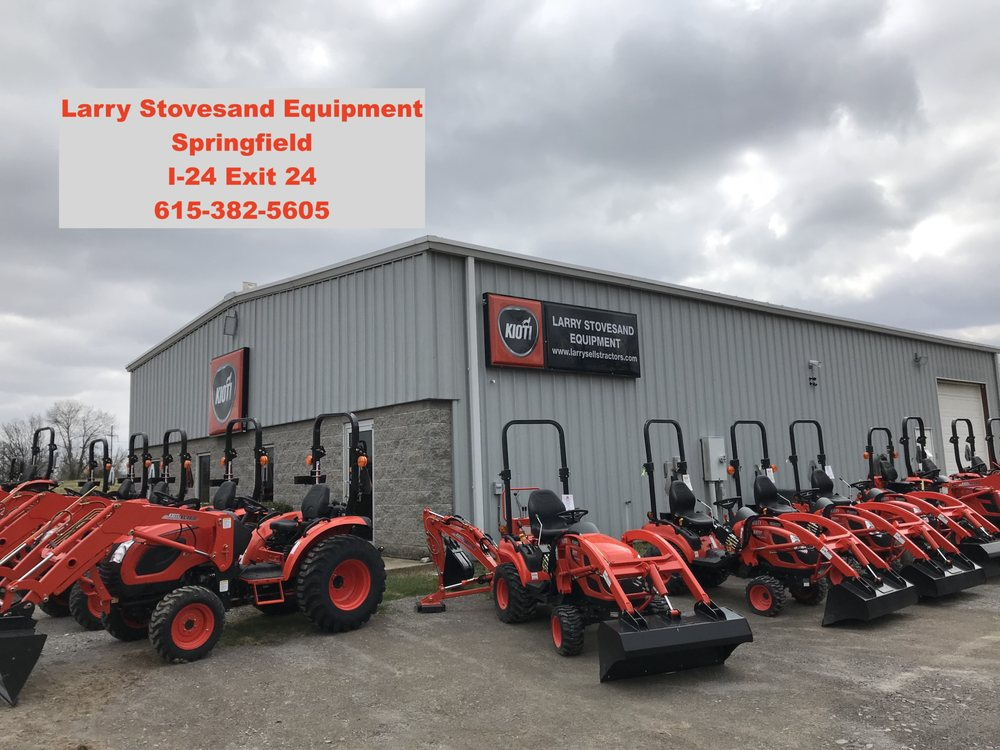 Larry Stovesand Equipment: 4219 Hwy 49W, Springfield, TN