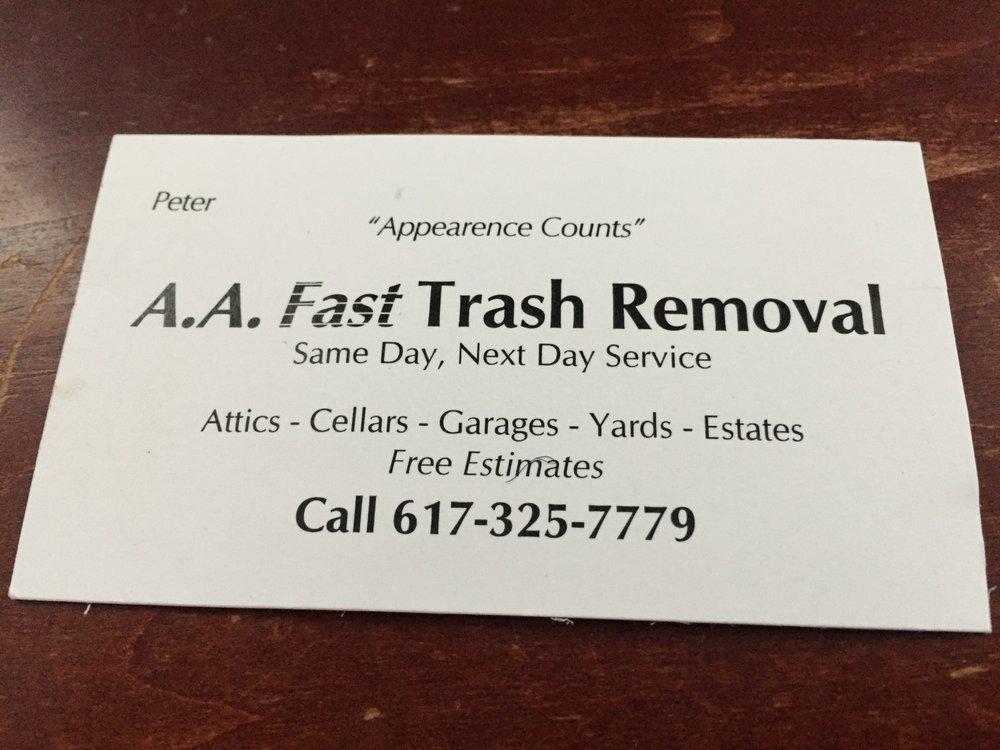 Fast Trash Removal: Dedham, MA