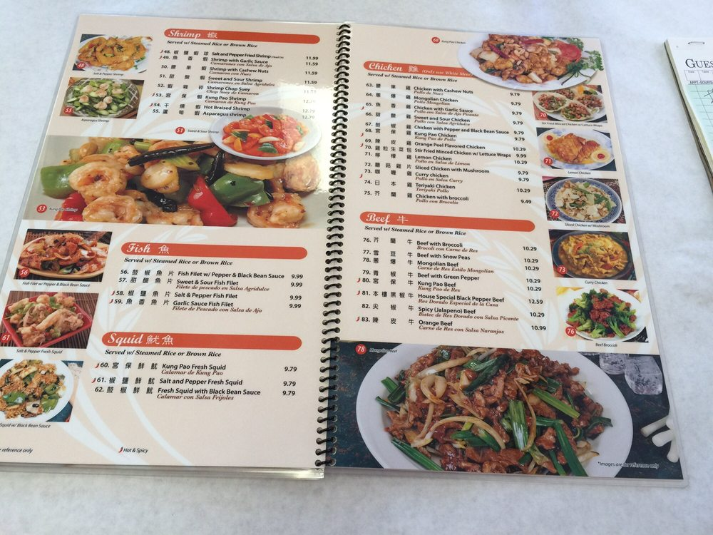 Sing Woo Kitchen Menu