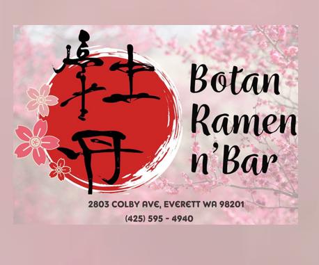 Botan Ramen n' Bar: 2803 Colby Ave, Everett, WA