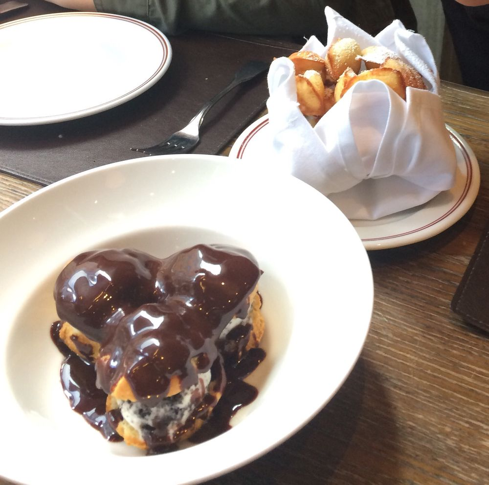 Profiteroles and Madeleines These desserts are incredible. My ...