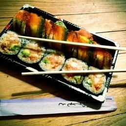 sushi Korsør mega fransk