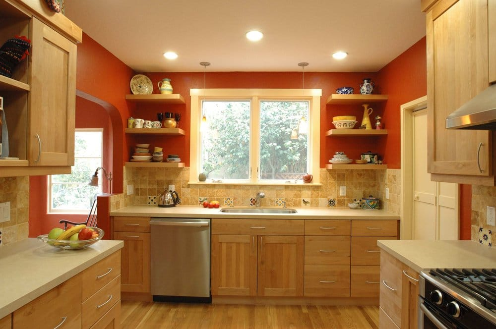 Southwest kitchen in a 1920 39 s home in oakland added new for Kitchen design yelp
