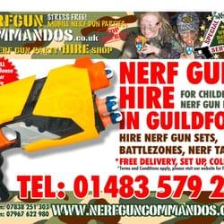 Photo of Nerf Gun Commandos - Guildford, Surrey, United Kingdom. Nerf Gun  Hire