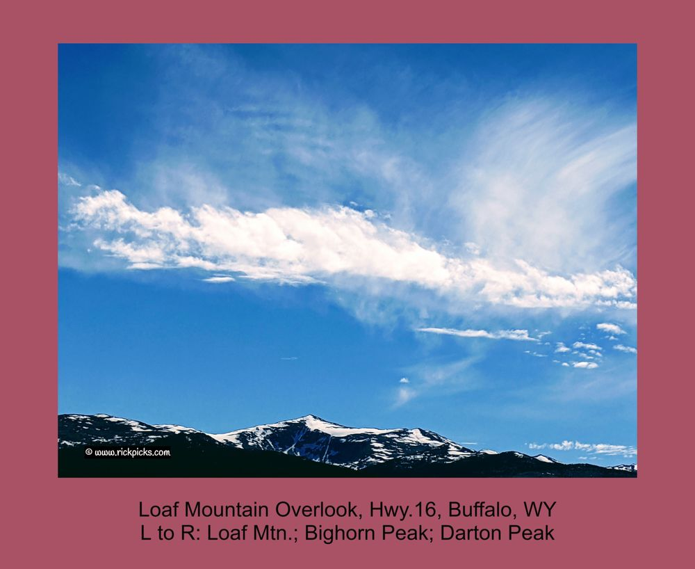 Loaf Mountain Overlook: 1415 Fort St, Buffalo, WY