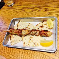 Greek eats order food online 195 photos 264 reviews greek photo of greek eats new york ny united states chicken skewer w forumfinder Image collections