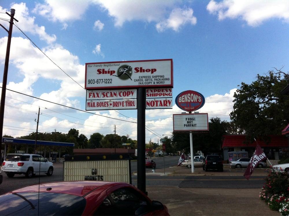 Ship Shop: 401 S Palestine St, Athens, TX